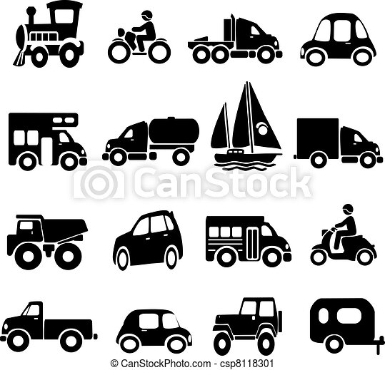 Transportation Icons - csp8118301