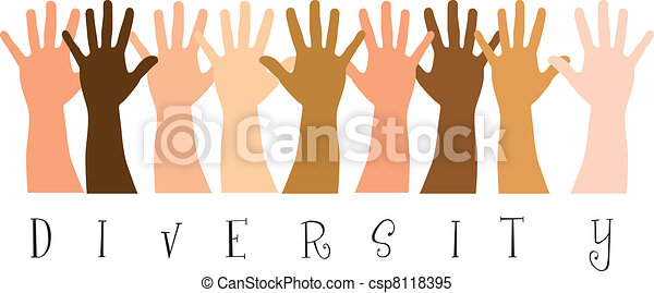 diversity hands - csp8118395