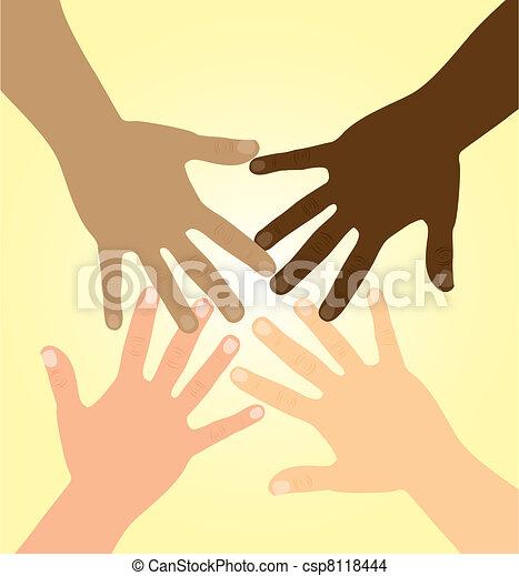 diversity hands - csp8118444