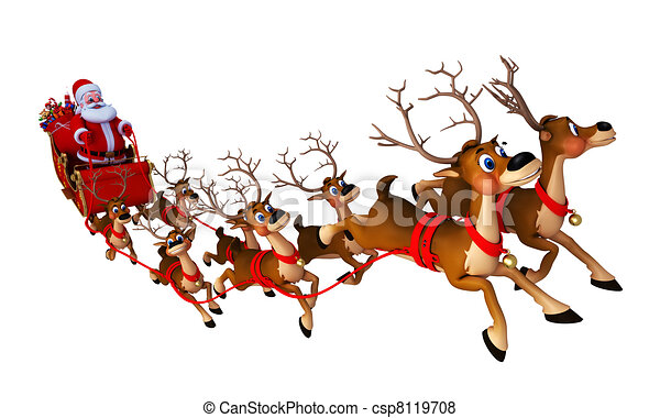 Sleigh Clipart and Stock Illustrations. 8,792 Sleigh vector EPS ...