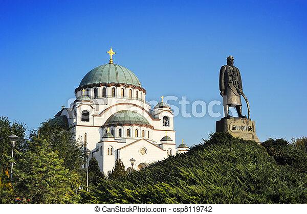 Monument commemorating Karageorge Petrovitch - csp8119742