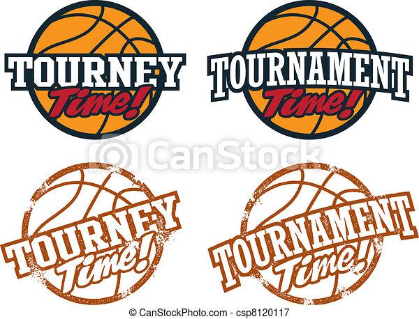 Basketball Tournament Graphics - csp8120117