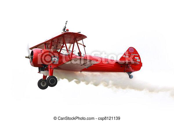 Air show in Michigan - csp8121139