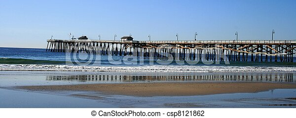 San Clemente Pier Long View - csp8121862