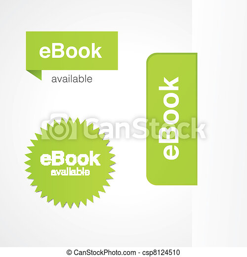 eBook Tabs and Stickers - csp8124510