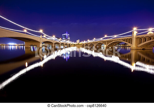 Tempe Arizona Bridges - csp8126640