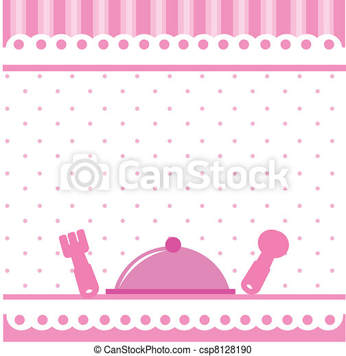 food and drink kitchen background - csp8128190