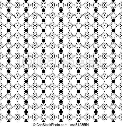 Seamless dots pattern - csp8128554