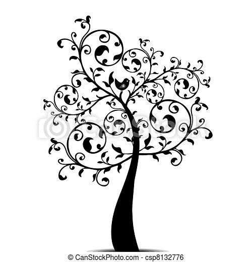 Art tree - csp8132776