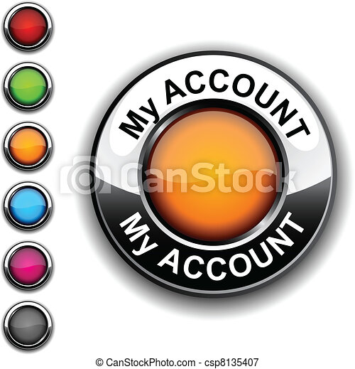 My account button. - csp8135407