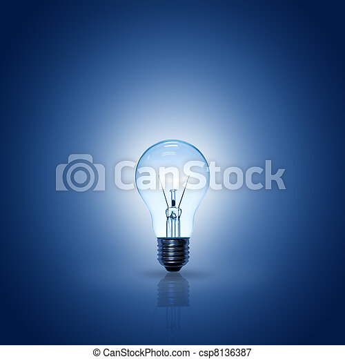 light bulb - csp8136387