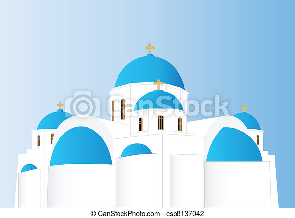 Greek Orthodox Church - csp8137042
