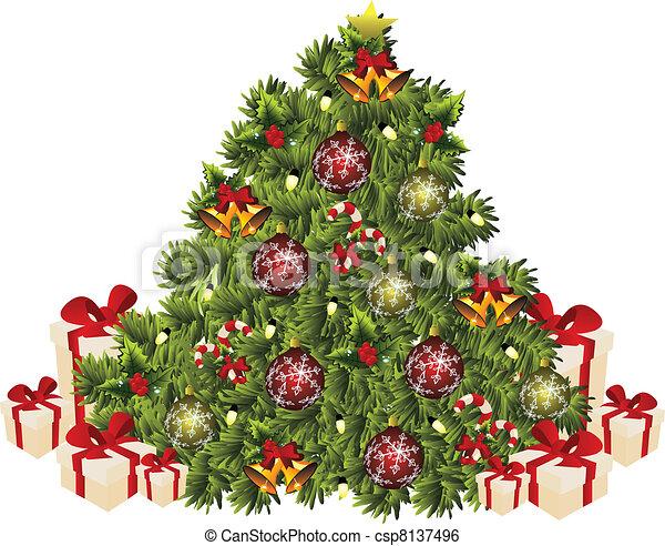 xmas tree - csp8137496