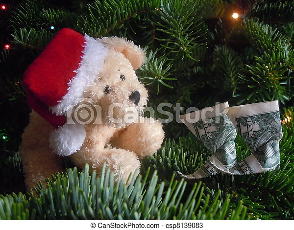 wealthy christmas - csp8139083