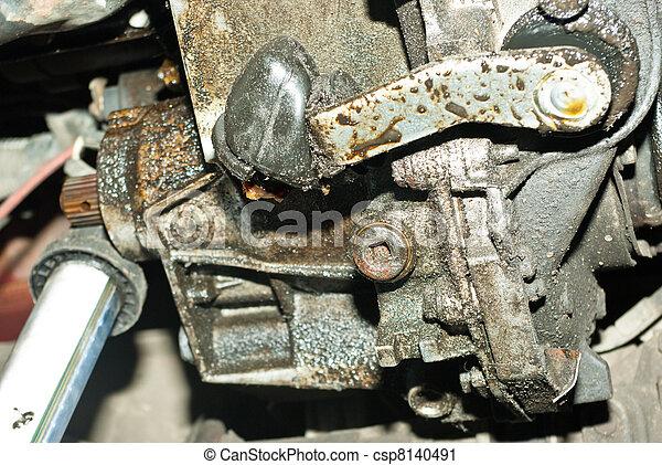 Auto repair shop.  - csp8140491