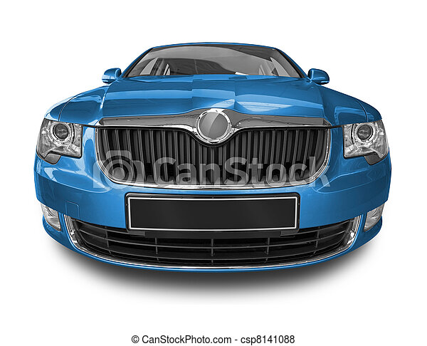 blue car - csp8141088