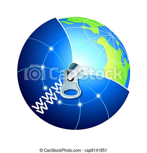 Explore World Wide World - csp8141851