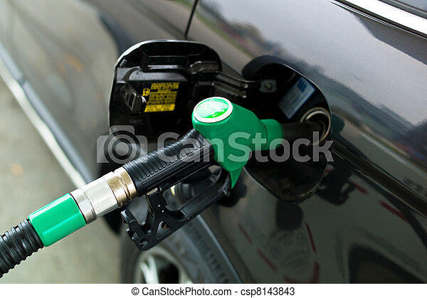 tap for a petrol filling station - csp8143843