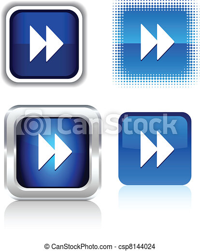 Forward  icons. - csp8144024