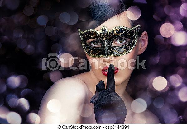 masquerade mask - csp8144394