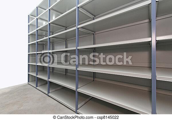 Empty storage room - csp8145022
