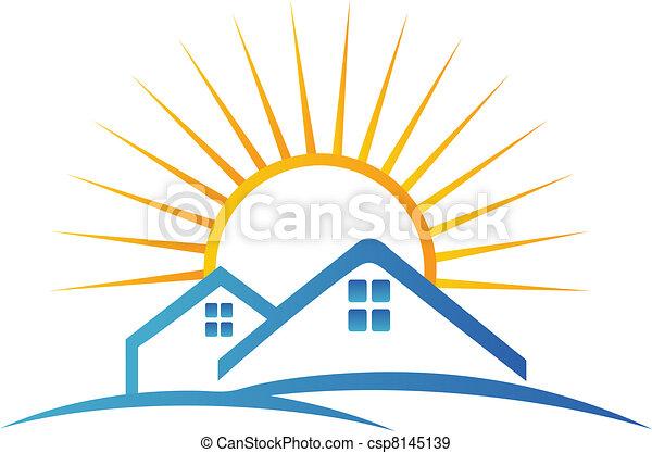Real estate team logo - csp8145139