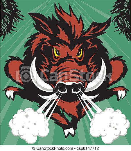 Wild Boar - csp8147712