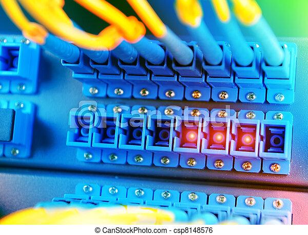 コミュニケーション, インターネット, 部屋, ネットワークサーバー - csp8148576