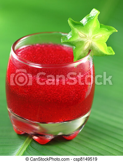 Herbal juice - csp8149519