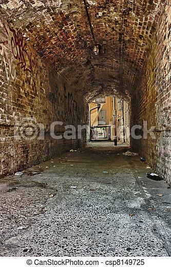dark alley - csp8149725