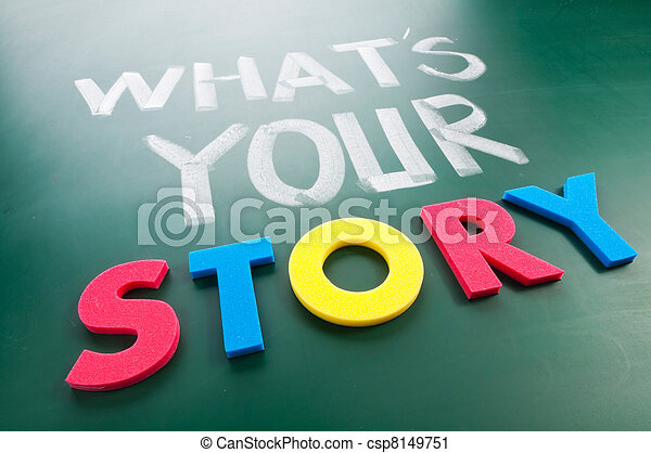 What is your story? - csp8149751