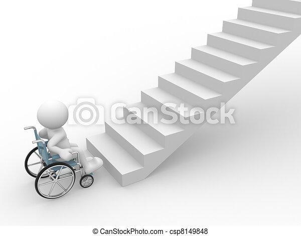 Wheelchair  - csp8149848