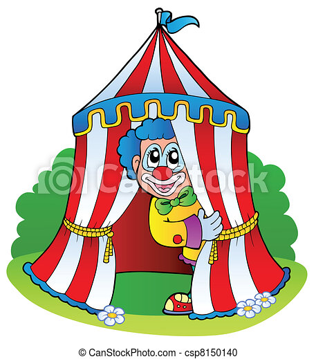 tecknad cirkus