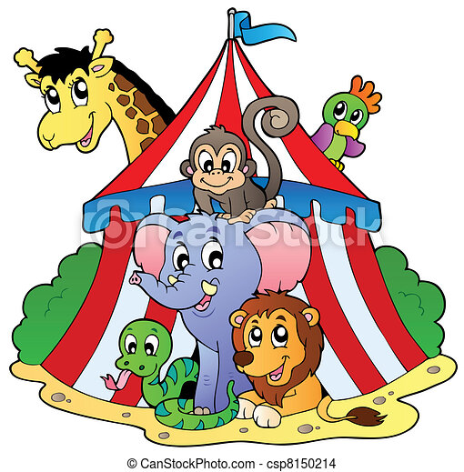 eps vector of various animals in circus tent vector pants clipart png plants clip art free