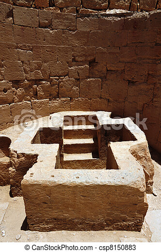 beit, イスラエル, 古代, shean - csp8150883
