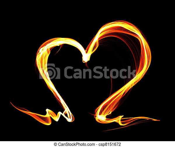 Fire heart - csp8151672