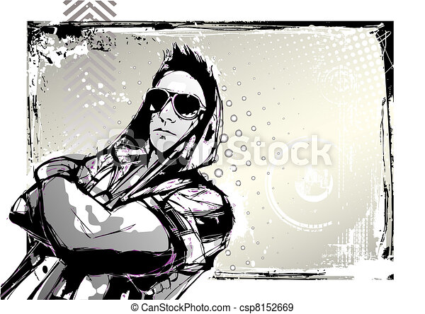 street dancer - csp8152669