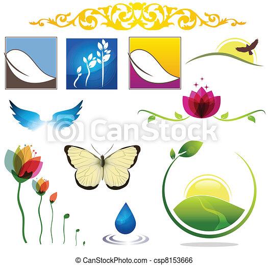 nature icons - csp8153666