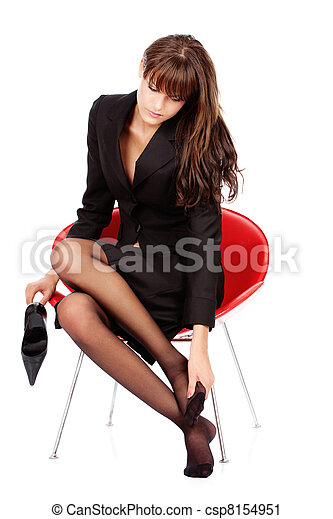 Feet massage - csp8154951