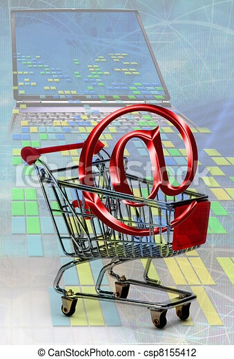 E-Commerce - csp8155412