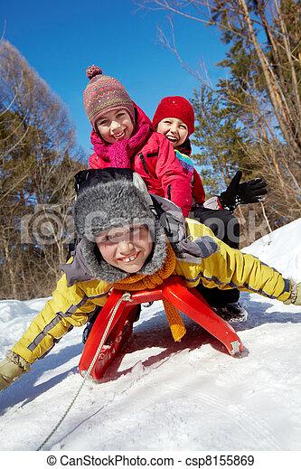 Winter fun - csp8155869