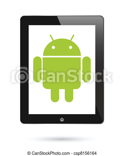 android operationg system for digital tablets - csp8156164