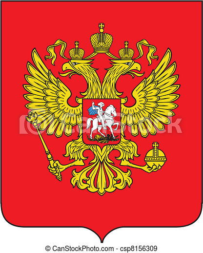Russian coat of arms - csp8156309