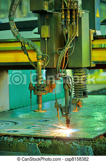 Plasma cutting - csp8158382