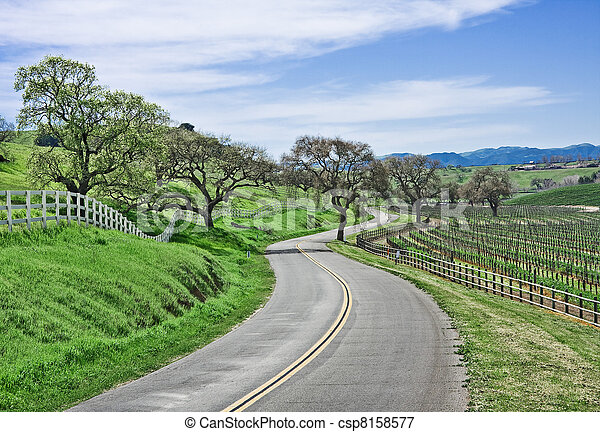 Country Road - csp8158577