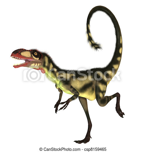 Dilong Dinosaur01 - csp8159465