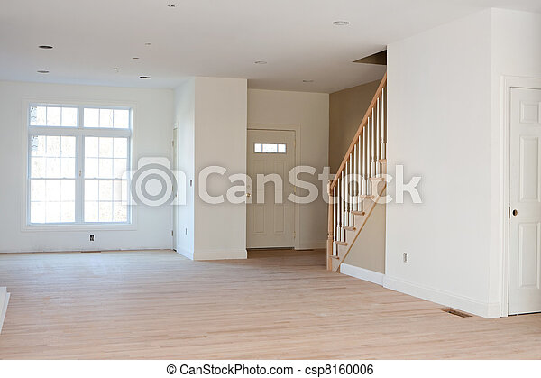 Unfinished Residential Home Interior - csp8160006