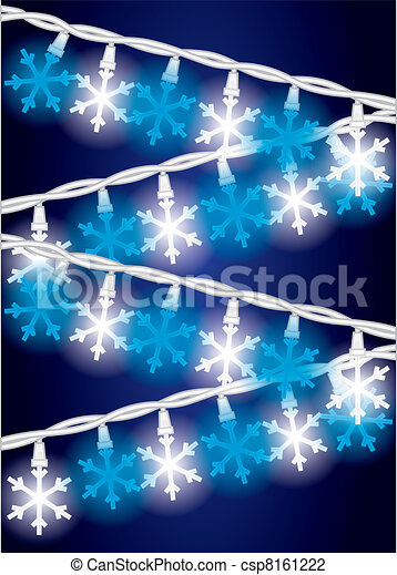 Snow Flake Lights - csp8161222