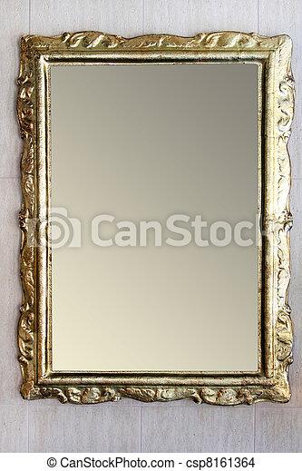 Rustic mirror - csp8161364