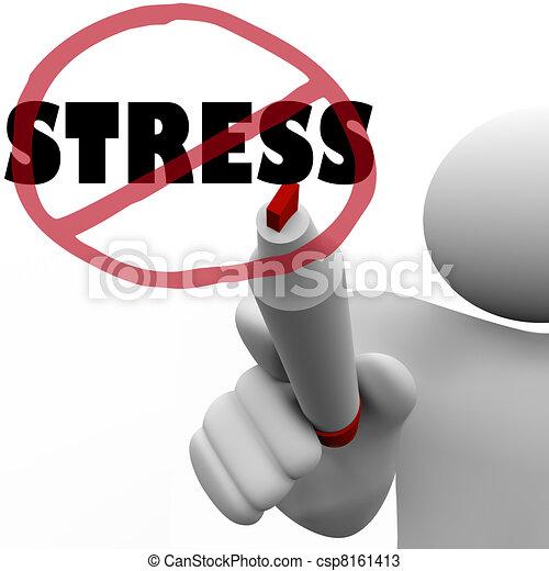 Reduce Stress Icon Slash to Reduce Stressful